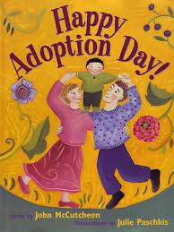 Childrens story books on adoption