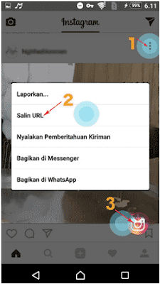 cara menggunakan video downloader for instagram