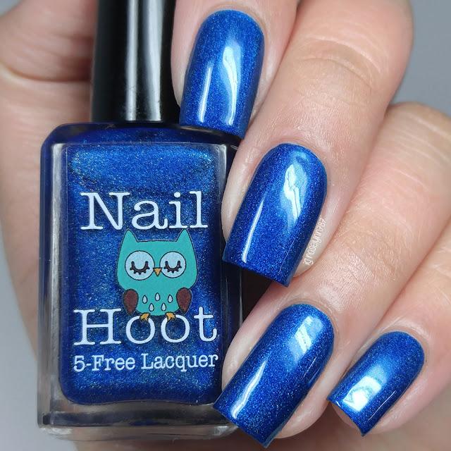 Nail Hoot - Sapphire September