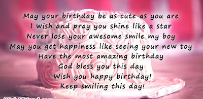Keep Smiling Birthday Quotes