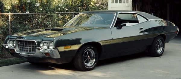 Ford Gran Torino for powerful cars from movies
