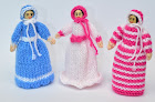Victorian Peg Doll Knitting Pattern