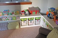 The Organized Toy Room