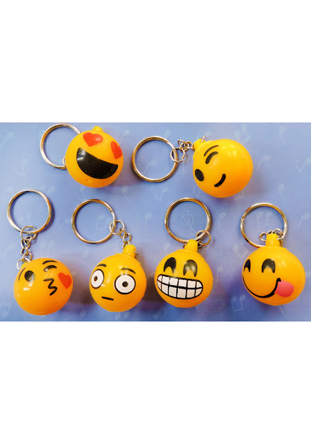 Smiley Key Chains