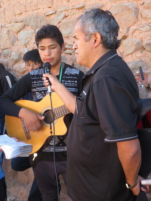 Mein Gitarrist und der Direktor des Gymnasiums