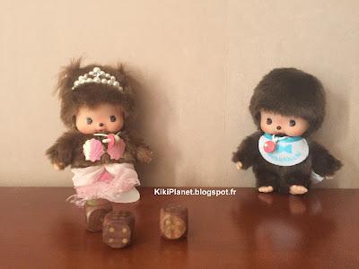 bebichhichi monchhichi kiki, cochon qui rit, toys, vintage