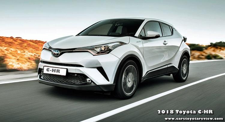 2018 Toyota C-HR Exterior