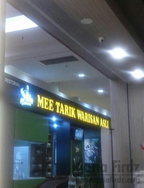 Mee Tarik Warisan Asli Dah Ada Di Johor!!!!