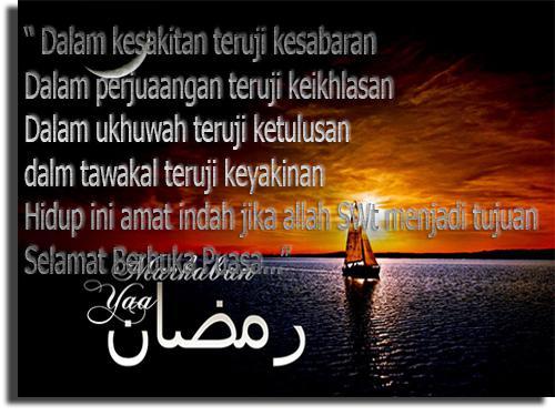 Kata-Kata Ucapan Selamat Berbuka Puasa Ramadhan