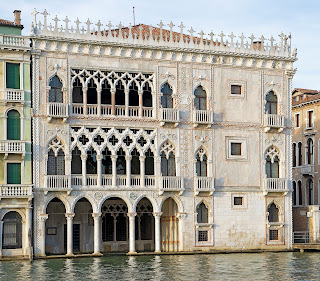 The Ca' d'Oro is one of the most famous palaces on the Grand Canal in Venice
