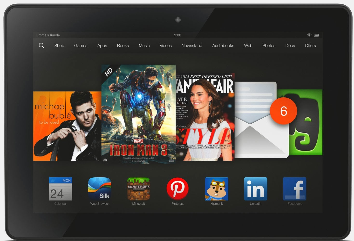 The best solution to play AVI videos on Kindle Fire HDX