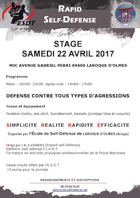 Stage Self defense en Exterieur