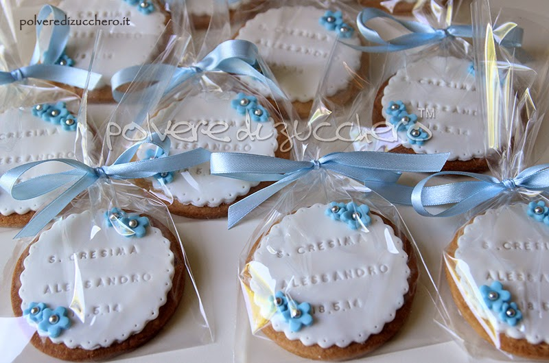 Preferenza Biscotti decorati per una Cresima   Polvere di Zucchero:cake  AO98