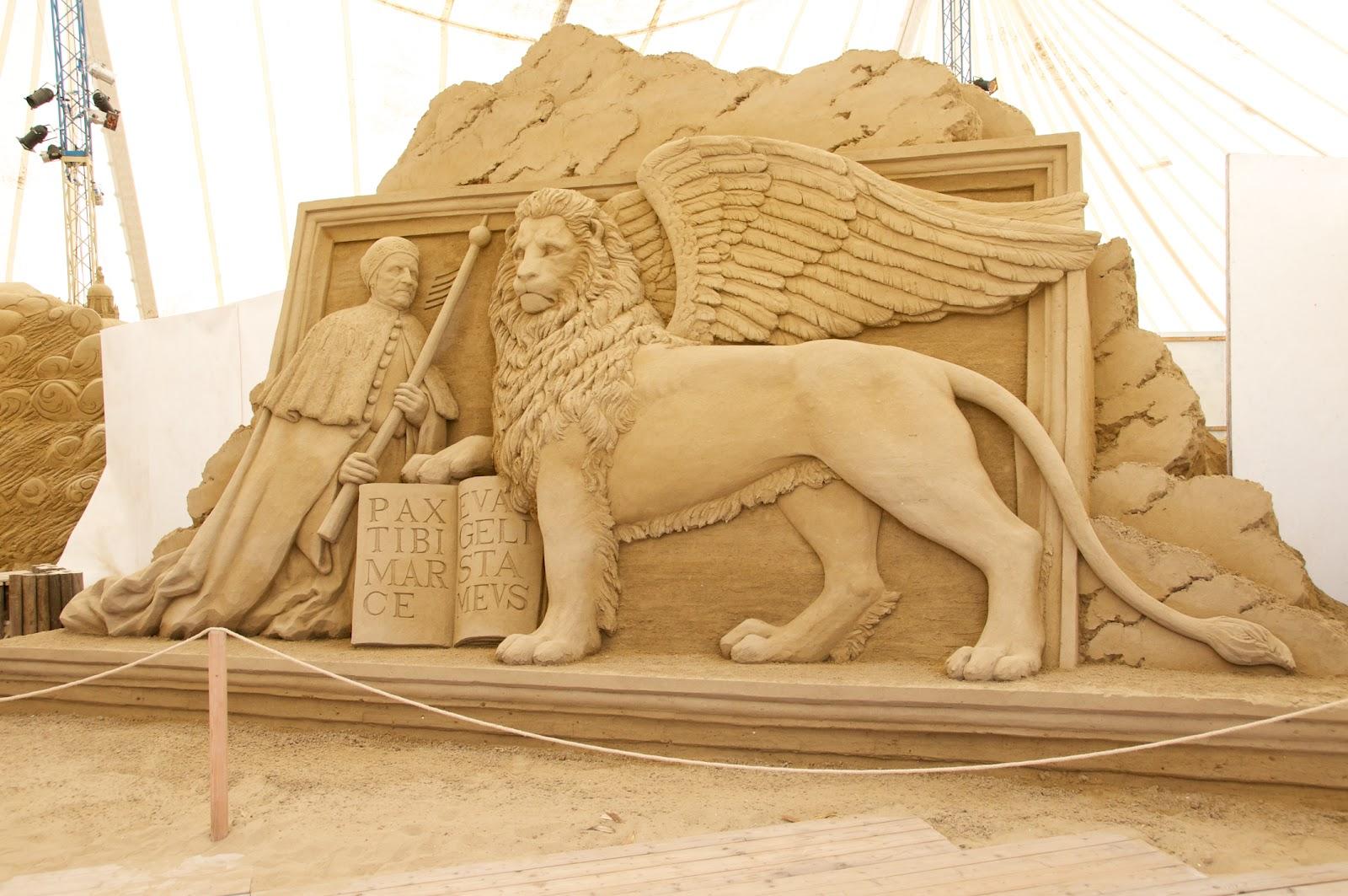 Jesolo Sand Sculpture Festival 2012 Venice  Photography to Love