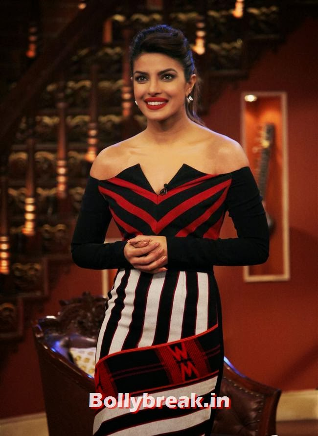 Priyanka Chopra, Gunday Promotion on Comedy Nights with Kapil