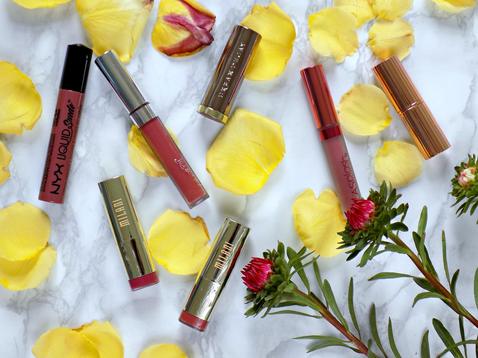 Summer to Autumn transitional lipsticks