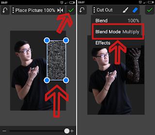 Cara edit foto tangan api