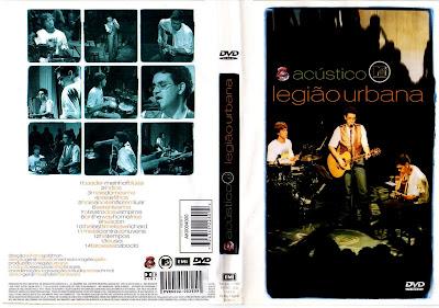 Legião Urbana Acústico MTV DVD Capa