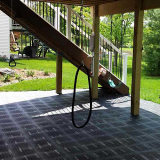 Greatmats staylock perforated tiles kids patio flooring