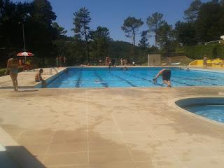 Piscina Sénior Parque Campismo Vouzela