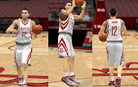 NBA 2K13 Houston Rockets Jersey Patch Mod