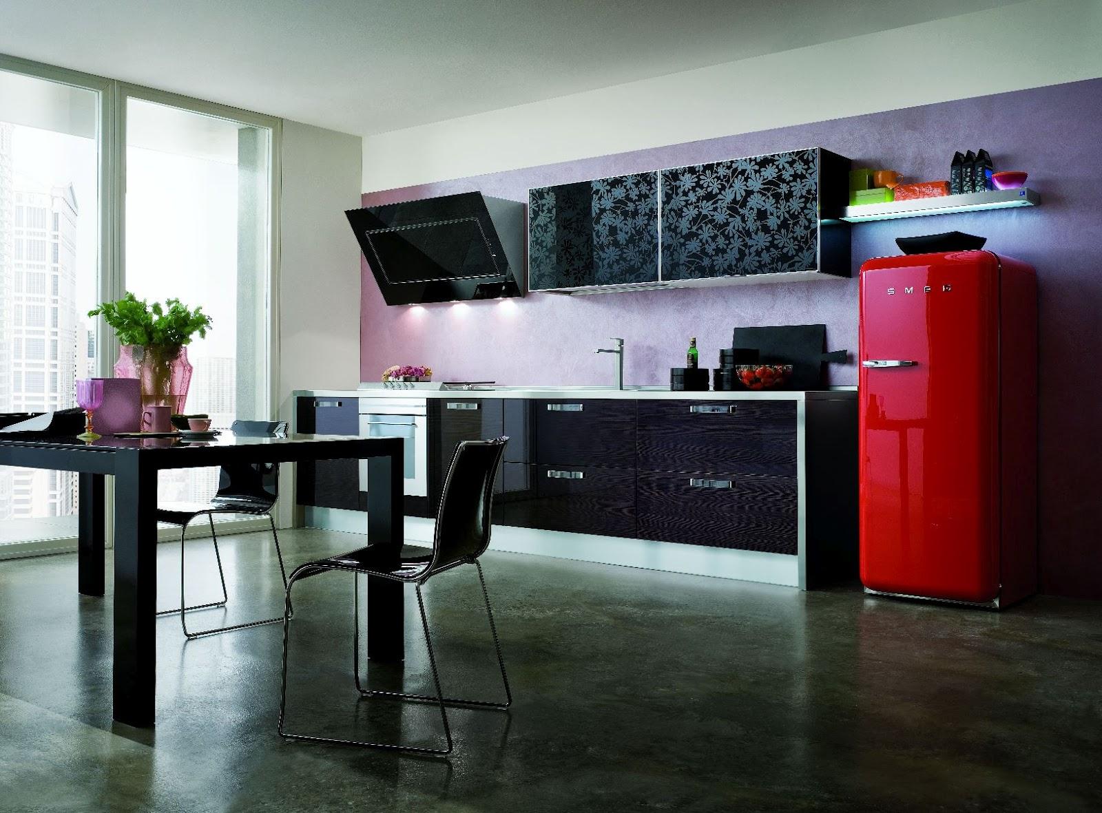smeg. Black Bedroom Furniture Sets. Home Design Ideas