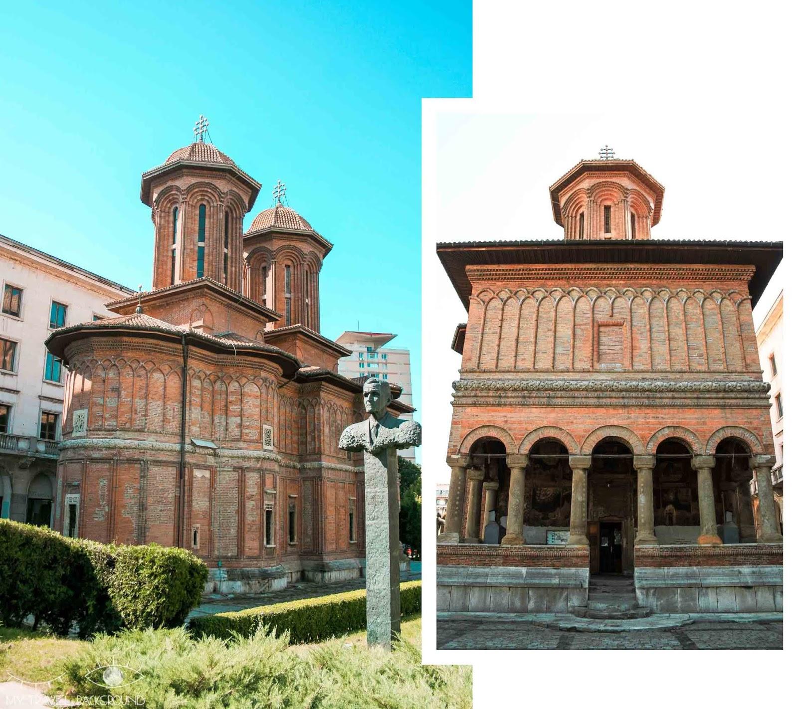My Travel Background : 3 jours à Bucarest en Roumanie - Eglise Cretulescu