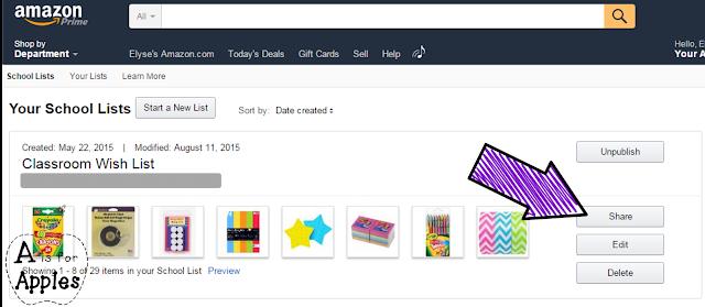 Amazon school supply list - Step 4
