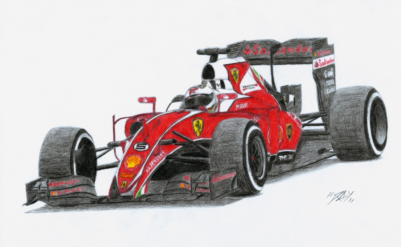 Disegno Di Ferrari Da Colorare Disegno Formula Ferrari Categoria