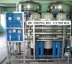 hệ thống lọc nước, sản xuất nước đóng bình