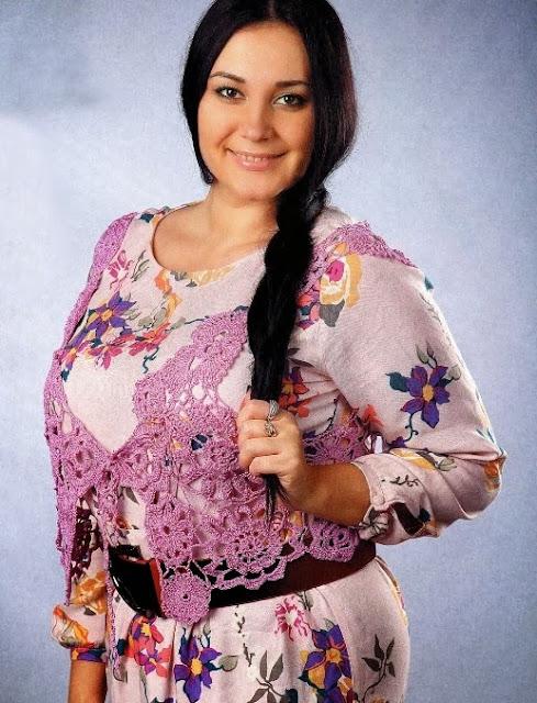 Chaleco Flores Composicion Patron
