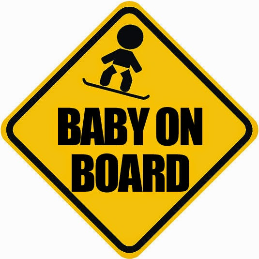 Crap Snowboarding Bumper Stickers Of The Week Baby On