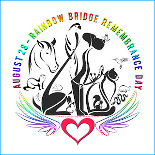 We Never Forget Good Furrends—Rainbow Bridge Remembrance Day 2017