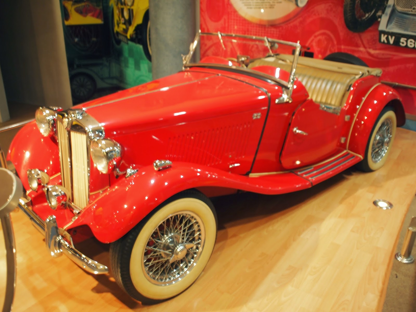 Muzium Automobil Nasional - MG TD
