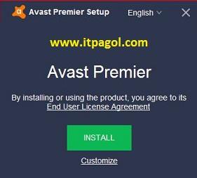 Start Install Avast Premier Offline Installer.