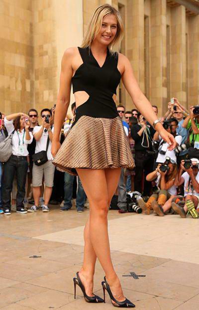"""Thực đơn giảm cân của """"thiên thần"""" quần vợt Maria Sharapova"""