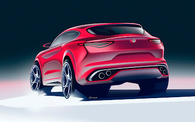 2018 alfa romeo stelvio sketch widescreen resolution hd wallpaper