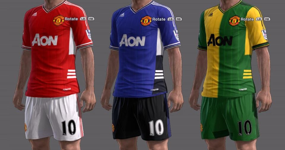 PES-MODIF: Download Fantasy Kits Manchester United By