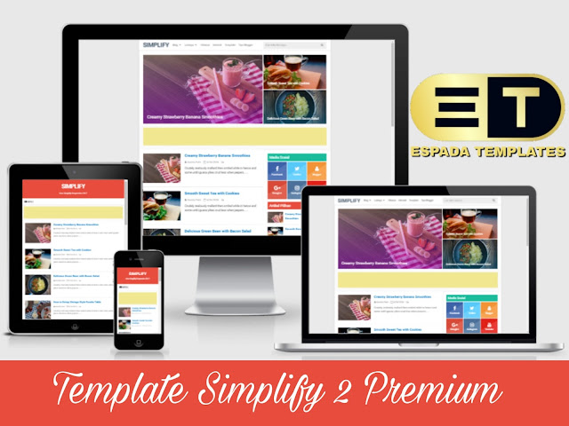Simplify 2 Premium Blogger Template