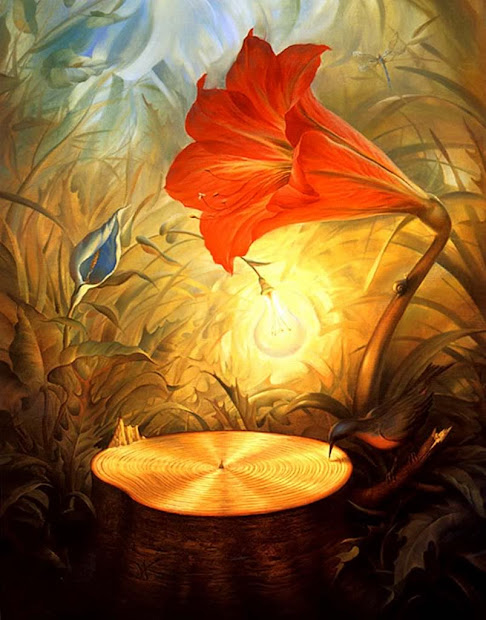 Reflections In Art Culture Surreal Paintings Of Vladimir Kush