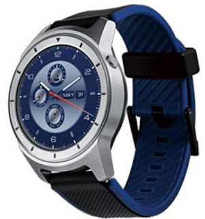 ZTE Quartz smartwatch arriving soon. Named ZTE ZW10 zte smartwatch will be compatible with android 4.3 jelly bean, and later iOS 8.2. ZTE smartwatch Quartz smartwach model number ZW10