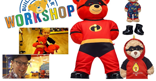 Get a Closer Look at the 'Incredibles 2' Bears at Build-A-Bear & Watch Along as we Build Two [In-Store Video Review]