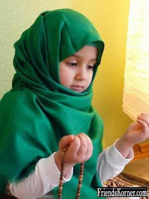 20 Gambar Foto Anak Muslim Muslimah Pake Sorban Hijab Bayi