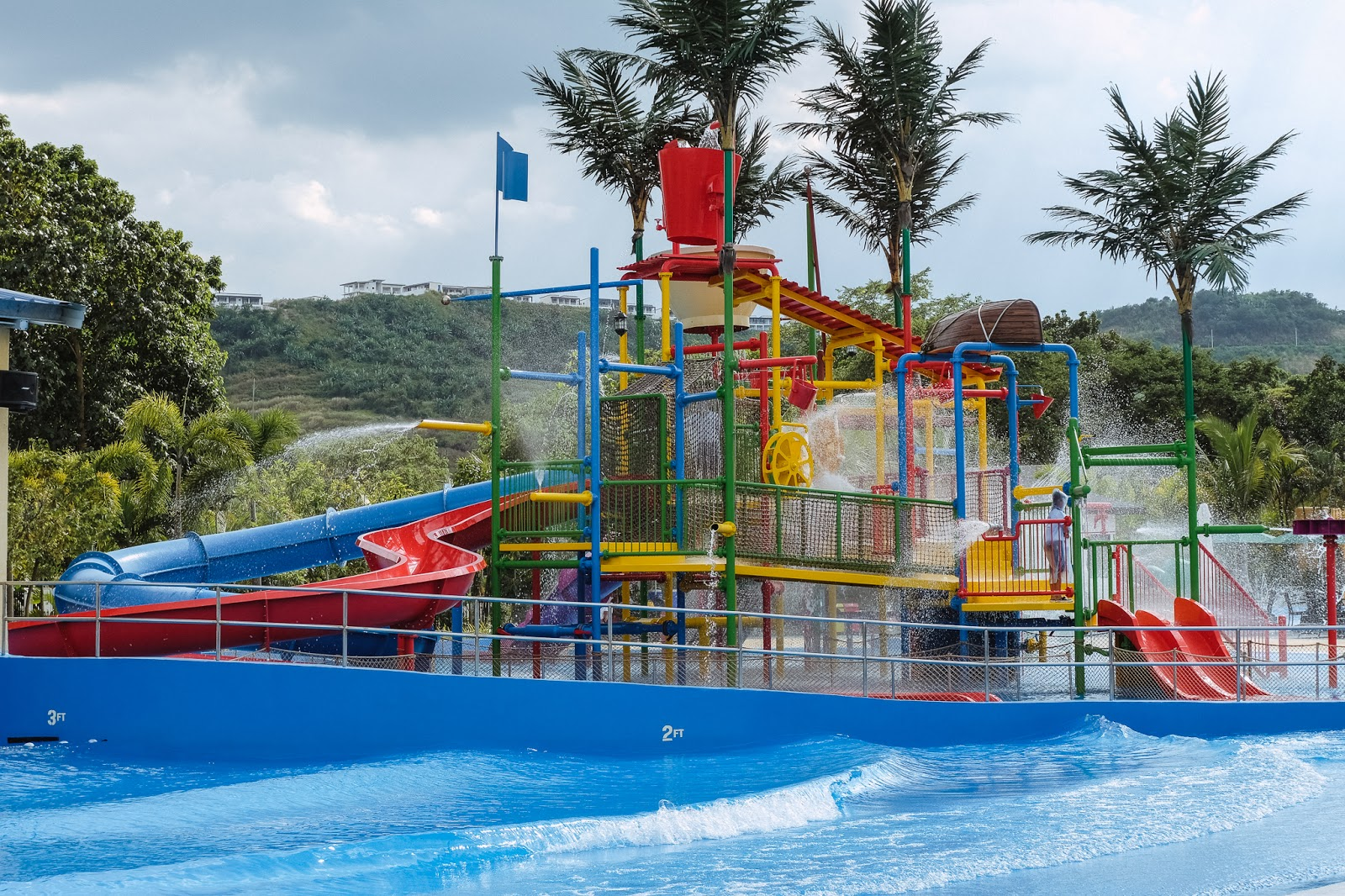what to do in Clark, Pampanga; must visit place in Clark, AQUA PLANET WATER PARK