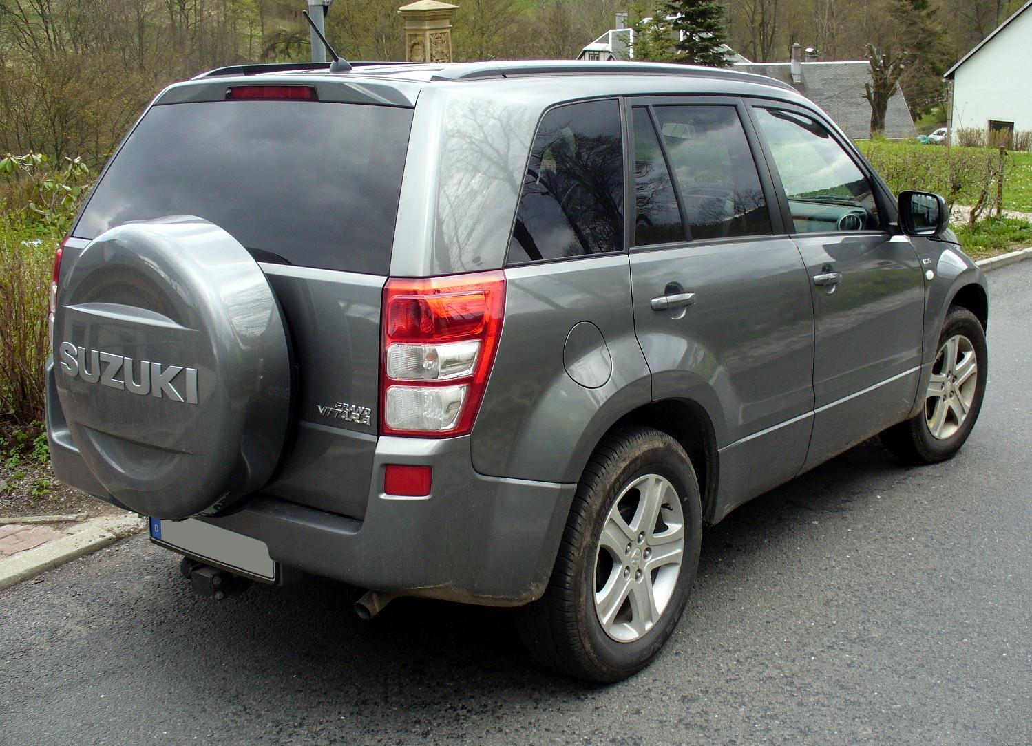 Suzuki Grand Vitara Exterior Cars
