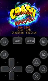 Giocare a Crash Bandicoot e altri titoli ps1 su Android