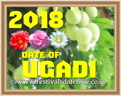 2018 Ugadi, Telugu & Kannada new Year Date in India