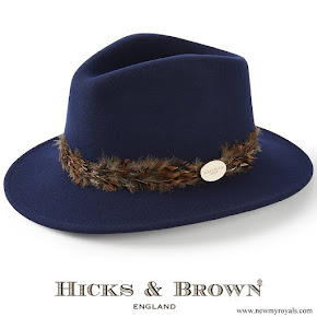 Kate Middleton wore Hicks and Brown Suffol Fedora