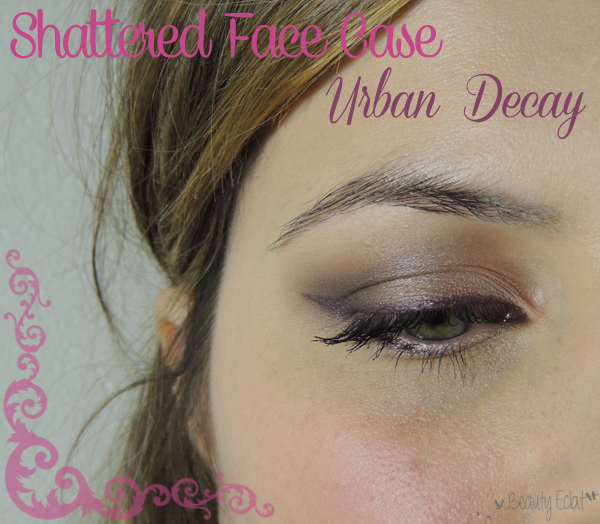 tutoriel maquillage neutre violet