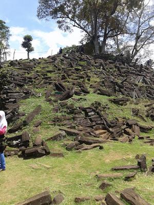 Gunung Padang Megalithic Pyramid